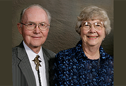 Max '55 and Joyce Wheeler '56 Douglas believe in the mission of Manchester University